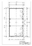Hansa Garden Room C Plan pdf 106x150 - Garden Room C 30m² / 70mm / 4 x 8 m